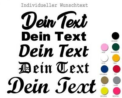 ★ Bügelbild Bügelbilder eigener Text Flex Folie Hotfix Name ABC Wunschtext B2 ★