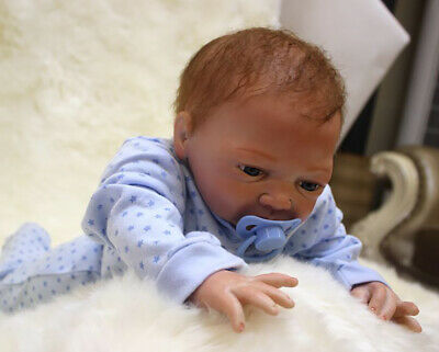 """22"""" Full Body Realistic Reborn Dolls Lifelike Baby Boy Newborn Doll Xmas Gifts"""