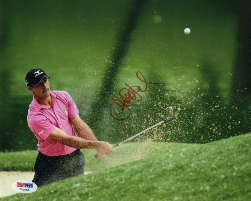 JONATHAN BYRD SIGNED AUTOGRAPH 8x10 PHOTO - GOLF PGA TOUR ROOKIE OF THE YEAR PSA
