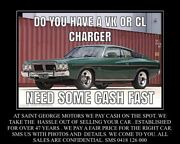 VALIANT CL CHARGER'S   OR  VALIANTS   WANTED CASH PAID   Adelaide CBD Adelaide City Preview