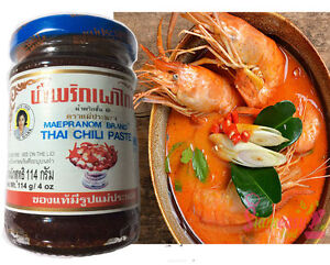 Chili Paste Thai Food Cooking Soup Tom Yum Ingredient Asian Spices 114g