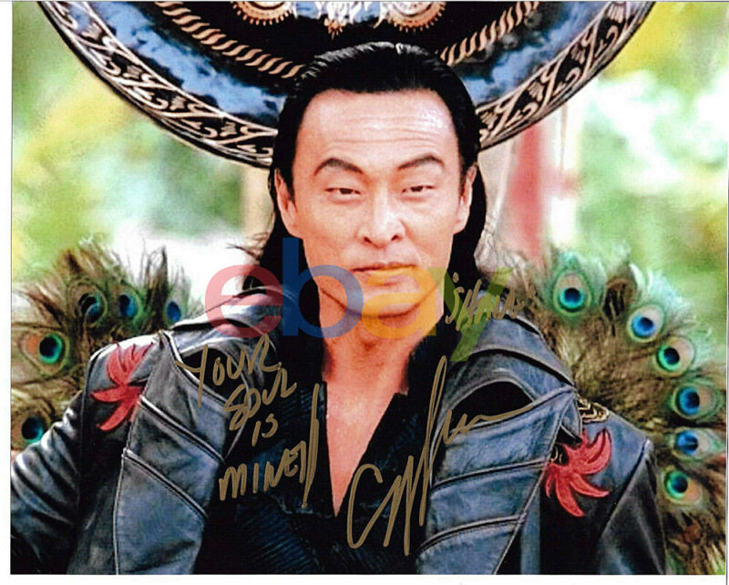 Cary-Hiroyuki Tagawa Signed 8x10 Photo Autographed, Mortal Kombat, Shang Tsung r