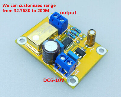 5mhz Hifi Tcxo 0.1ppm Ultra Precision Crystal Oscillator Clock Power Supply