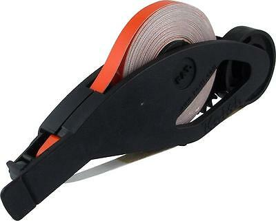 KEITI Motorcycle Bike Wheel Stripes Tape + Applicator REFLECTIVE ORANGE WS800O