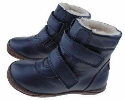 EN FANT Navy-04 Mädchen Kinderschuhe Stiefel Stiefeletten Boots Winterschuhe