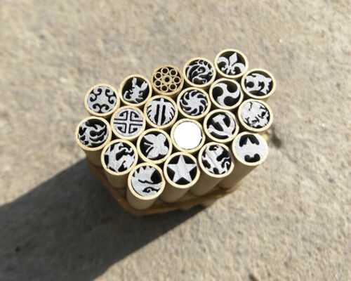 Mosaic Pin Rivets 45mm Steel Brass Tube 8mm Diameter DIY Knife Handle Pins 1 Pc