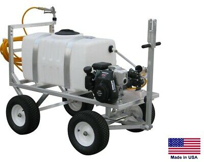 Sprayer Commercial - Trailer Mounted - 6 Gpm - 290 Psi - 5 Hp - 50 Gallon Tank