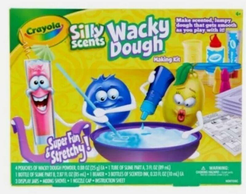 Crayola Silly Scents Wacky Dough Making Kit