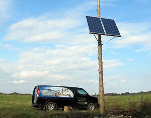 Pompe solaire 12 volts ITT Série 4000 chalet, bovins, irrigation Québec City Québec image 4