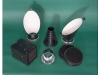 Assorted Bowens attachments