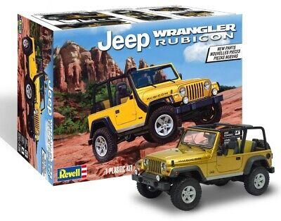 Revell Jeep Wrangler Rubicon 1:25 85-4501 Plastic Model Kit