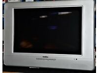 TV MONITOR WITH BUILT IN DVD PLAYER.