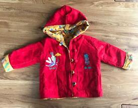 Children's Reversible Coat (Age 9 - 18 months)