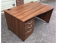 Large Desk with Draws