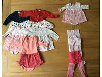 Next Baby Girl Dress Bundle Up to 1 Month