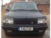 2001 Range Rover P38 4.6 petrol V8