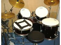OLYMPIC PREMIER DRUM KIT, WINE RED