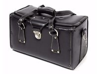 Vintage Camera bag in Genuine Leather
