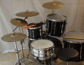 Premier 9 Piece Drum Kit suitable for professional/amateur use