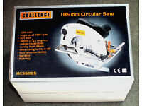 Challenge 185mm Circular Saw (New - unused)