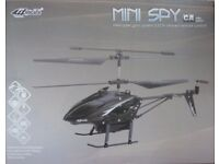 Brand New Mini Spy Helicopter Gyro 3.5CH Infra Red