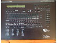 Solton MS4 accordion keyboard sound module expander