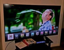 "55"" LG 3D LED SMART Full HD TV-Freeview (55LM760T'ZB)"