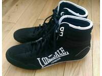 Lonsdale Boxing boots size 7 never worn