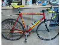 retro cannondale road bike