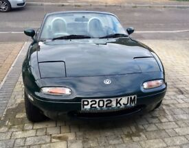 Mazda MX5 mk1, Monza edition, racing green, MOT March 2019