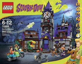 LEGO Scooby-Doo sets- 75902 - 75903 - 75904