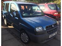 2003 Fiat Doblo, spares or repairs, drive away