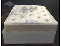 Double bed with 4 drawers meyers orthopaedic mattress VGC free delivery