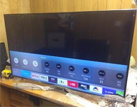 """New Boxed Samsung 55"""" smart 4k Uhd Tv apps warranty free delivery"""