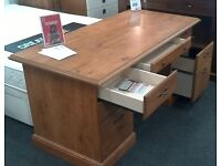Solid wood writing desk - British Heart Foundation