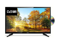 Brand New Cello C43227FT2 43 Inch T2 HD/DVD Player and USB Full HD LED TV with Freeview - Black