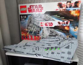 Star Wars LEGO FIRST ORDER STAR DESTROYER 75190