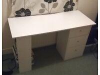 Malibu 3 Drawer Desk / Table (£30)