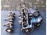 Suzuki Bandit GSF 1200 mk2 Crankcases with Crankshaft, Conrods, Starter Clutch