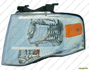 Head Lamp Driver Side Chrome Bezel High Quality Ford Expedition 2007-2014