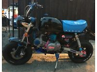140 cc Monkey bike
