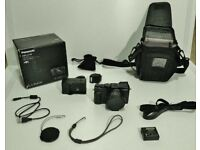 PANASONIC LUMIX DMC LX 100. excellent condition with extras