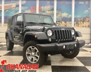 2016 Jeep WRANGLER UNLIMITED UNLIMITED RUBICON | 1 Owner | Navig