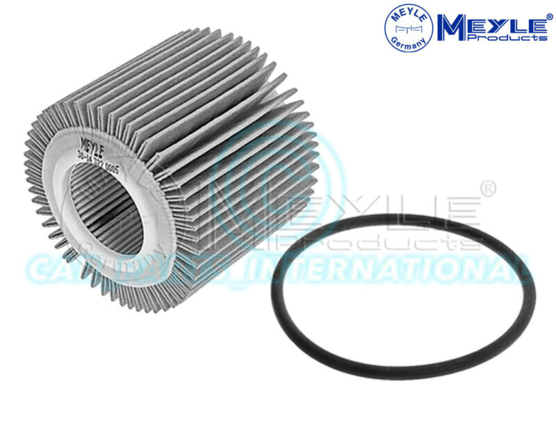 Meyle Oil Filter, Filter Insert with seal 30-14 322 0005