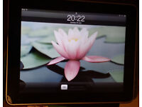 iPad, 1st Generation, 64Gb, Wifi, Silver, Minute condition, Original box and multiple cases