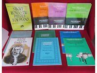 Piano Music Books.
