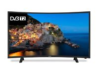 Brand New Cello C32229T2 32-Inch Curved LED Digital TV with Freeview T2 HD - Black [Energy Class A]