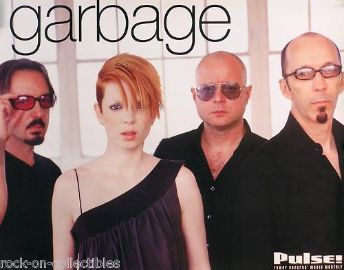 Garbage 2001 Pulse Magazine Tower Records Original Promo Poster