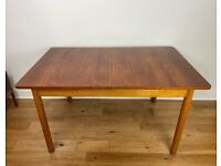 Mid-Century Retro Teak Extending Dining Table FREE LOCAL DELIVERY