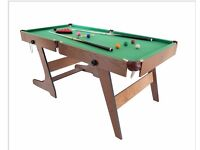 6ft pool/snooker table in excellent condition.